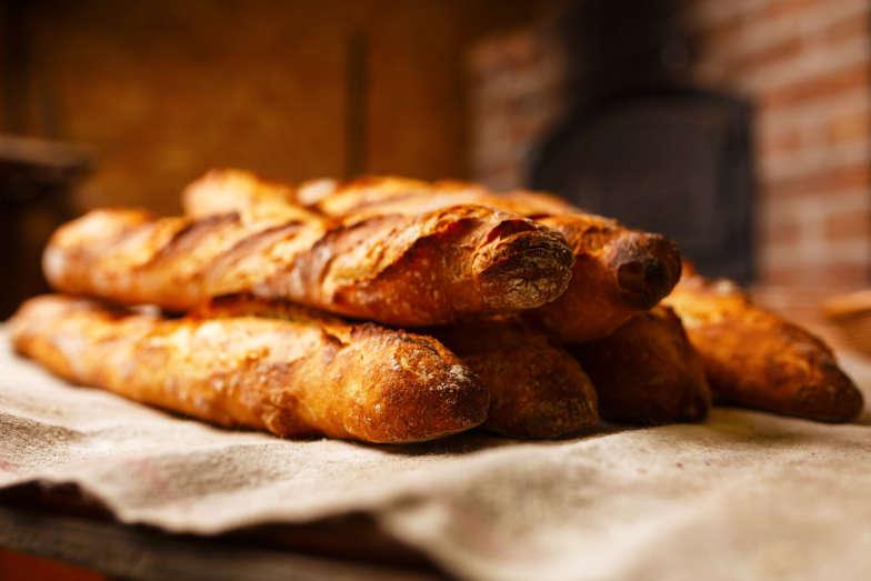 etaLight Anwendung Bäckerei Brot Baguette