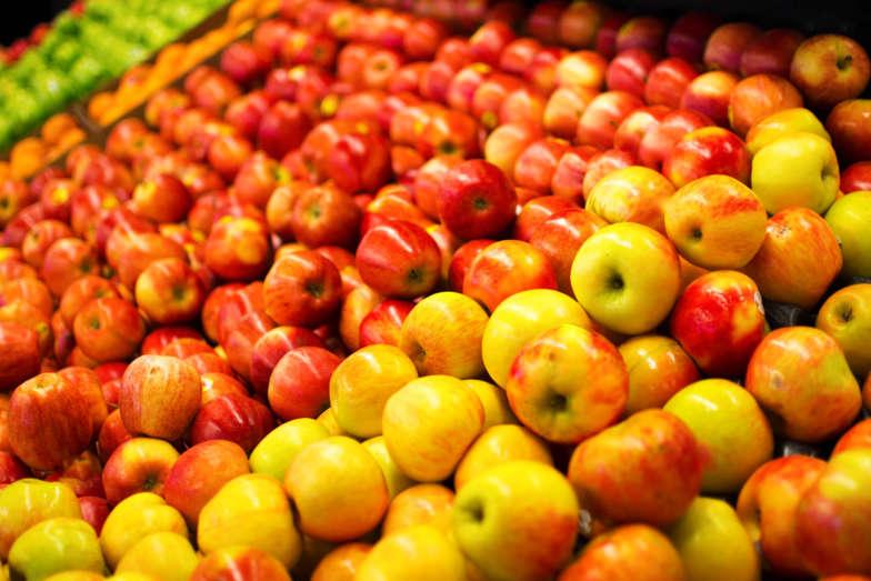 etaLight Anwendung Supermarkt Obst und Gemüse Äpfel