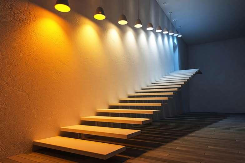 etaLight LED Treppe mit Beleuchtung